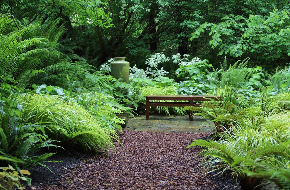 Mulch adds moisture to your garden and enriches the soil